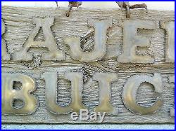 1/1 Krajenke Buick (Hamtramck MI) Hawk Dealer Showroom Sign, Vintage Americana