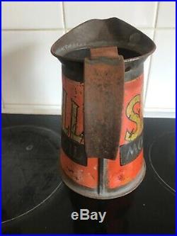 1928 Vintage Shell Oil Jug Pourer Can