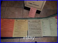 1940's Vintage Chevy Traveling Salesman School Chevrolet Dealer Training Album