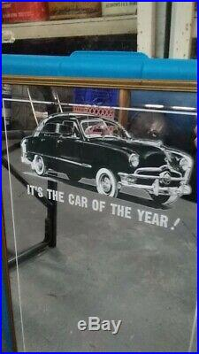 1950 Ford Dealer Promo Mirror rare original vintage