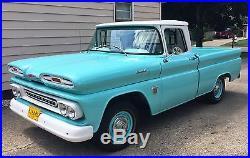 1960 Chevy Chevrolet California C-10 Apache Vintage Classic Fleetside Teal