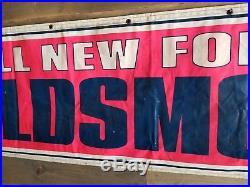 1966 Oldsmobile Vintage Dealership Sign Cutlass 442 convertible toranado