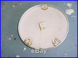 1970s Vintage CHEVROLET CAR Old Dial Thermometer Sign