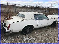 1985 cadillac eldorado biarritz coupe parts car 1 of 2 85 vintage el dorado