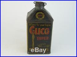 24775 Old Vintage Garage Tin Can Sign Advert Oil Globe Pump Jug Pourer Glico
