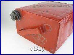 24790 Old Vintage Garage Tin Can Sign Advert Oil Globe Pump 2 Gallon Autoline