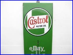 24883 Old Vintage Garage Enamel Sign Advert Petrol Gas Oil Cabinet Jug Castrol