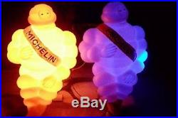 2x 17 Vintage Michelin Man Doll Figure Bibendum Car Truck Trailer Decor Part