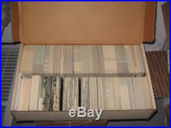 (3,000) Assorted Vintage Chevrolet Ford Mercury Dealer Advertising Postcards Lot