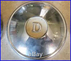 6 Datsun 312 311 Bluebird Vintage D Hubcaps