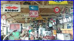 Ancien THERMOMETRE HUILE LABO RUSH, vintage, garage, auto, moto, no copie, no émaillé