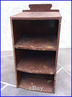 Antique Leo Meyer Alligator boot automobile tire display shop cabinet Vintage