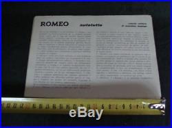 Brochure Alfa Romeo Romeo Autotutto Depliant Camper Furgone Bus Old Vintage