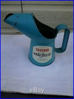 CASTROL Antifreeze pourer vintage