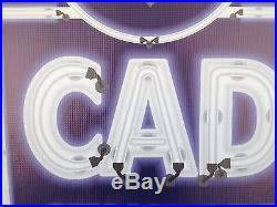 Cadillac Dealer Vintage Old Marquee Sign Remake Printed Banner Art Huge 8' X 5