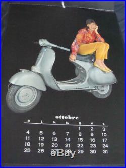 Calendario 1959 Vespa Piaggio 150 gs 50 prima serie originale vintage scooter
