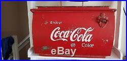 Coca Cola Coke Cooler 1950's Bottle Opener CLASSIC CAR Vintage VW SPLIT SCREEN