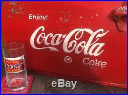 Coca Cola Coke Cooler 50s Metal CLASSIC CAR Vintage VW Campervan Advertising