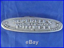 Coltellino Pirelli Superflex Pneumatici Cord Anni 20-30 Promo Vintage Old Italy