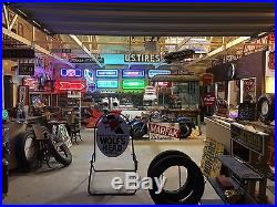 EARLY Vintage AnTiQuE FORD SERVICE ARROW Sign NEON Car Truck 1930's Dealership