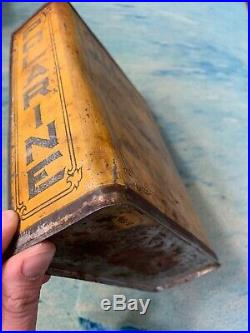 Early Vintage Polarine Standard 1 One Gallon Motor Oil Can Tractor, Boat, Car