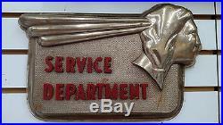 GM Vintage Pontiac Service Department Sign