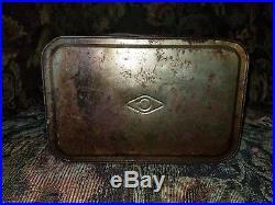 GREAT CAR & AIRPLANE GRAPHICS, Original Vintage Metal 2 Gallon Motor Oil Can