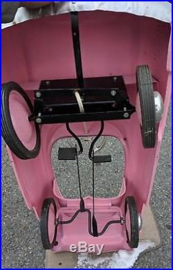 Garton Kidillac Pedal Car VTG Sign Garage Advertising Hot Rod Rat Display Toy