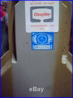 HUGE Rare Vintage AC SPARK PLUG STORE DISPLAY CLOCK Car Garage Man Cave SIGN