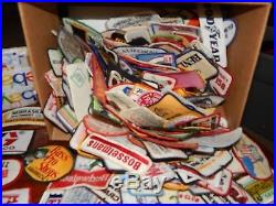 Huge LOT 363 vintage patches Farm Agriculture Automotive Seed Car Beer Railroad