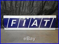 Insegna Luminosa Vintage Neon Fiat Old Sign Garage