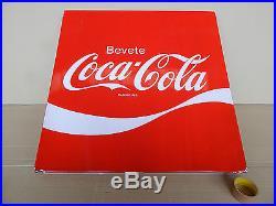 Insegna Smaltata Vintage Coca Cola Smalterie Lombarde Sign Old Epoca