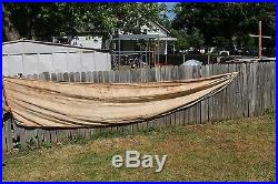 Large Vintage 1955 Chevrolet Chevy Car Dealership Gas Oil 228 Banner Sign