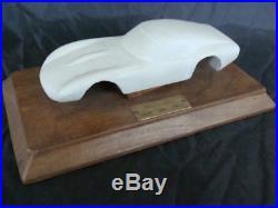 Maquette Ferrari 330 GTO 1962 vintage old model wood modello in legno