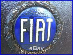 Mascherina Radiatore Fiat Emblem Epoca Tipo 503 508 Torpedo Vintage Old Car