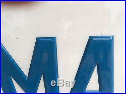 Maserati Dealership Sign Vintage Collectible Automobilia Free U. S. Shipping
