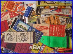 Matchbook Cover Huge Lot Vintage Collectible Advertising Restaurant Liquor Car