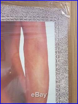 Maxwell Levi advertisement 1988 poster car garage man cave hot girl 11964