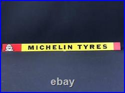 Michelin Tyres Vintage Garage Cycle Bicycle Advertising Tin Shelf Strip Sign