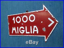 Mille miglia Coppa delle 1000 miglia sign Alfa Ferrari Bugatti Mercedes Vintage