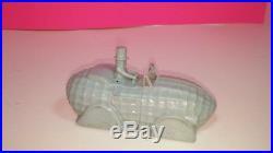 Mr. Peanut Blue Plastic Shape Car Vintage Figure Planters