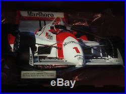 NIB Vintage Marlboro Lighted Race Car Advertising Sign 34 W x 20 H 1990's