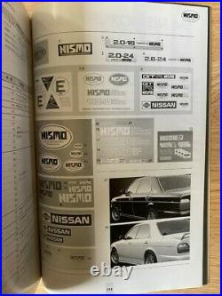Nismo Old Logo 1993 Catalogue Rare Vintage Skyline GTR R32 Silvia S13 RB26 SR20