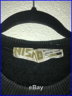Nismo Old Logo Sweater Rare Vintage Jacket Windbreaker Greddy HKS GTR S13 RB26