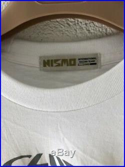 Nismo Old Logo T-shirt Rare Club Le Mans JGTC R33 GTR Jacket Vintage LM R32 R34