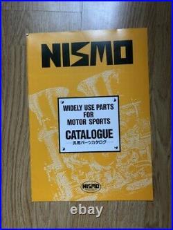 Nismo Old Logo brochure Catalogue 1993 Rare Skyline Steering Seat Vintage GTR