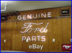 OLD VINTAGE FORD PARTS and ACCESSORIES NEON SIGN