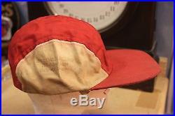 ORIGINAL VINTAGE 50s HONEST CHARLEY SPEED SHOP ADVERTISING HAT CAR CLUB