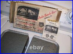 Original 1950' s Vintage nos AUTO-TRAYS drive-in car hop custom old Rat Hot rod