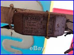 Original ALFA ROMEO MILANO Neon Lighted Sign Service Dealership 1950 NOS Vintage